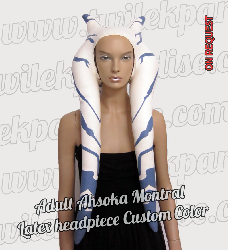 Adult Ahsoka Montral Latex Headpiece5
