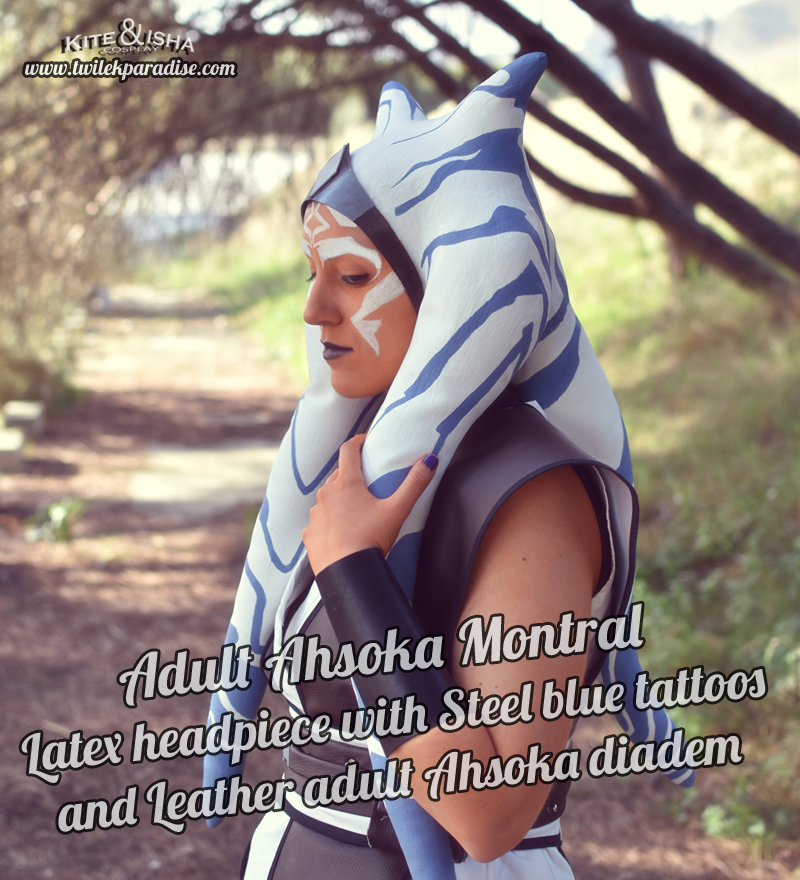 Adult Ahsoka Before REBELS Montral Latex Headpiece