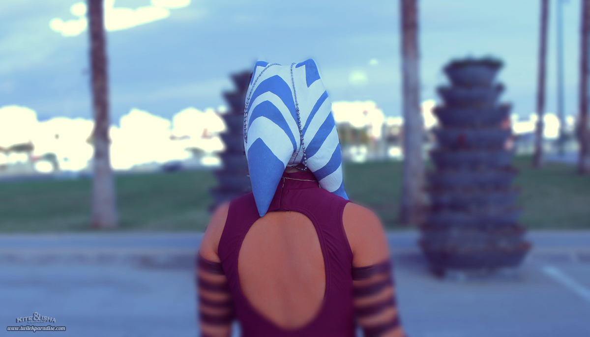 Ahsoka Tano Clone Wars Watching The Horizon