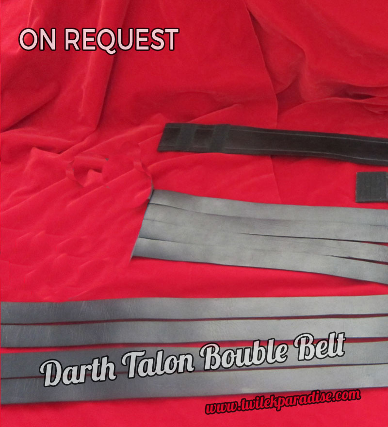 Darth Talon Belt Leather (double Belt)