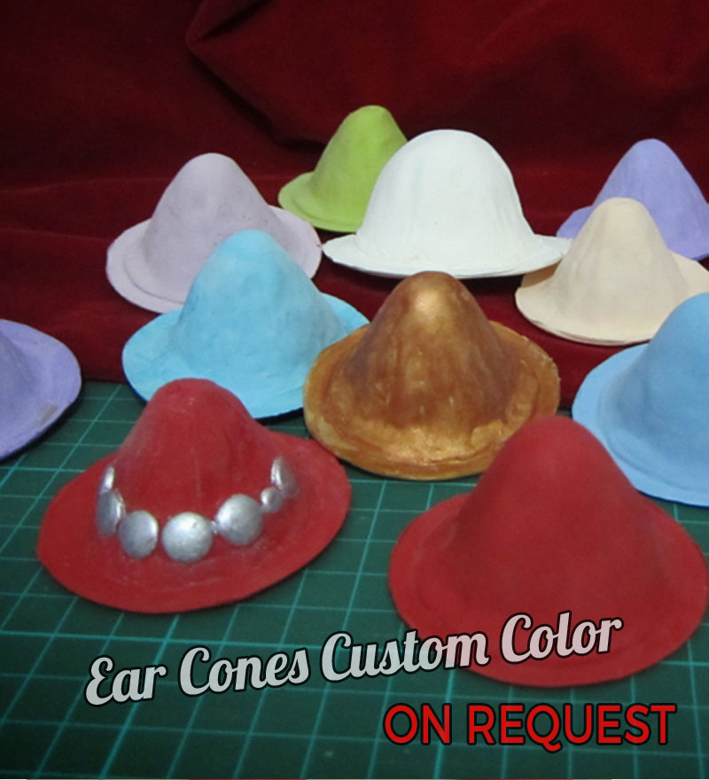 Ear Cones Custom Color