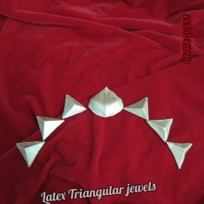 Latex Triangular Jewels