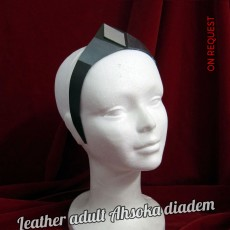 Leather Adult Ahsoka Diadem V2 SOON PHOTOS