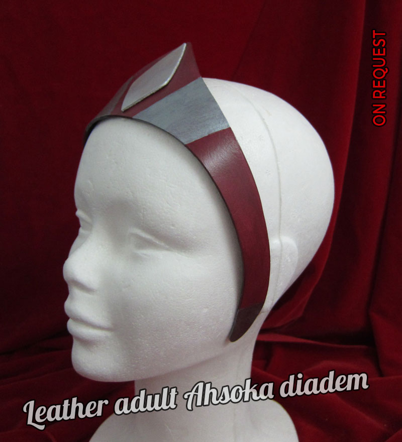 Leather Adult Ahsoka Diadem V2