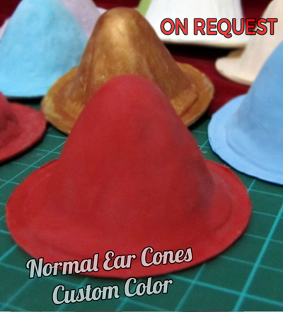 Normal Ear Cones Custom Color