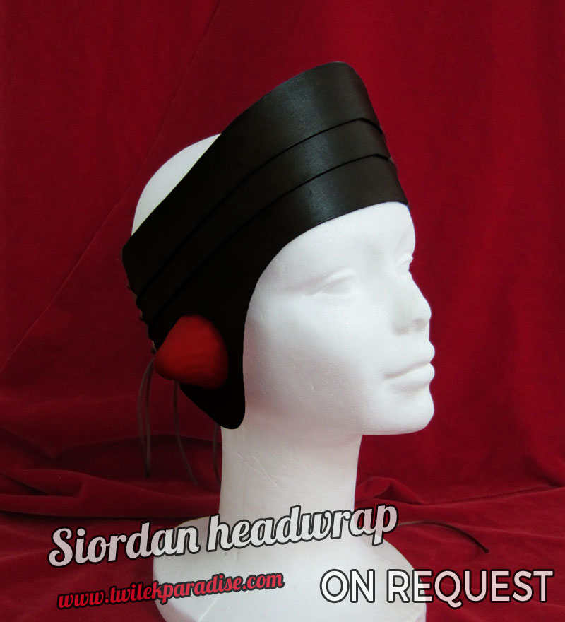 Siordan Headwrap Black