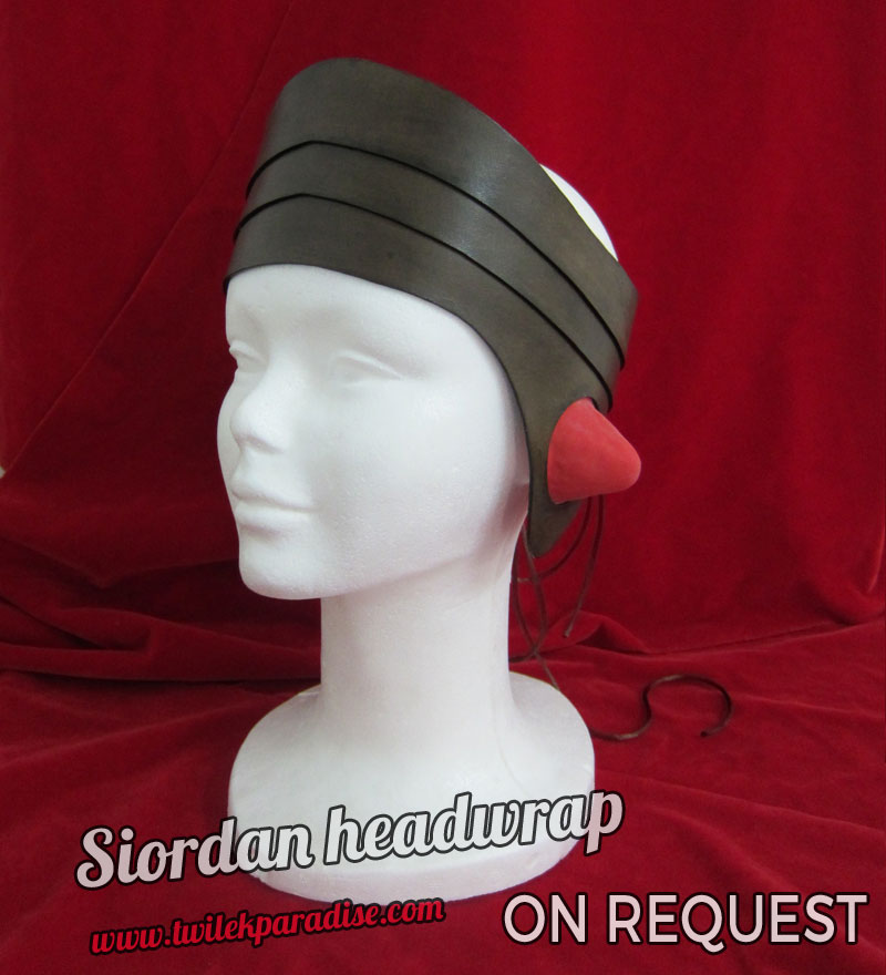 Siordan Headwrap Brown