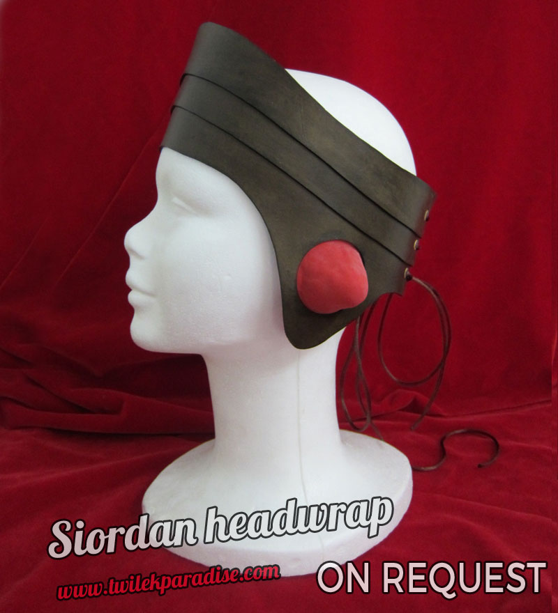 Siordan Headwrap Brown2