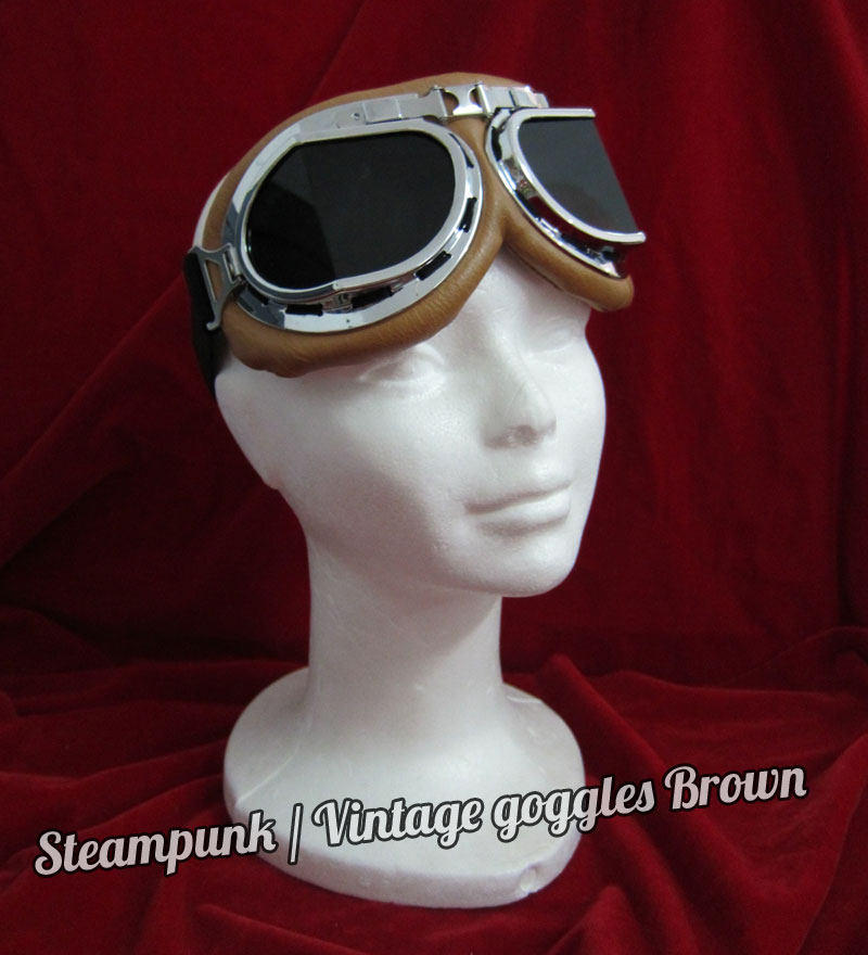 Steampunk—Vintage Goggles2