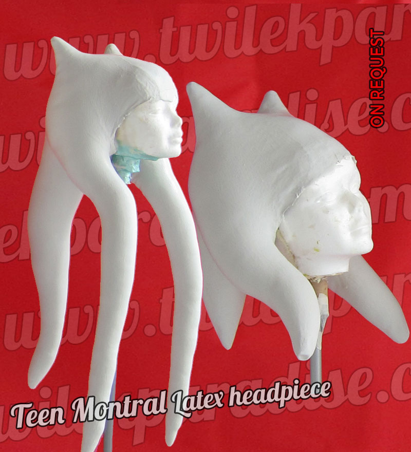 Teen Montral Latex Headpiece 2 Versions