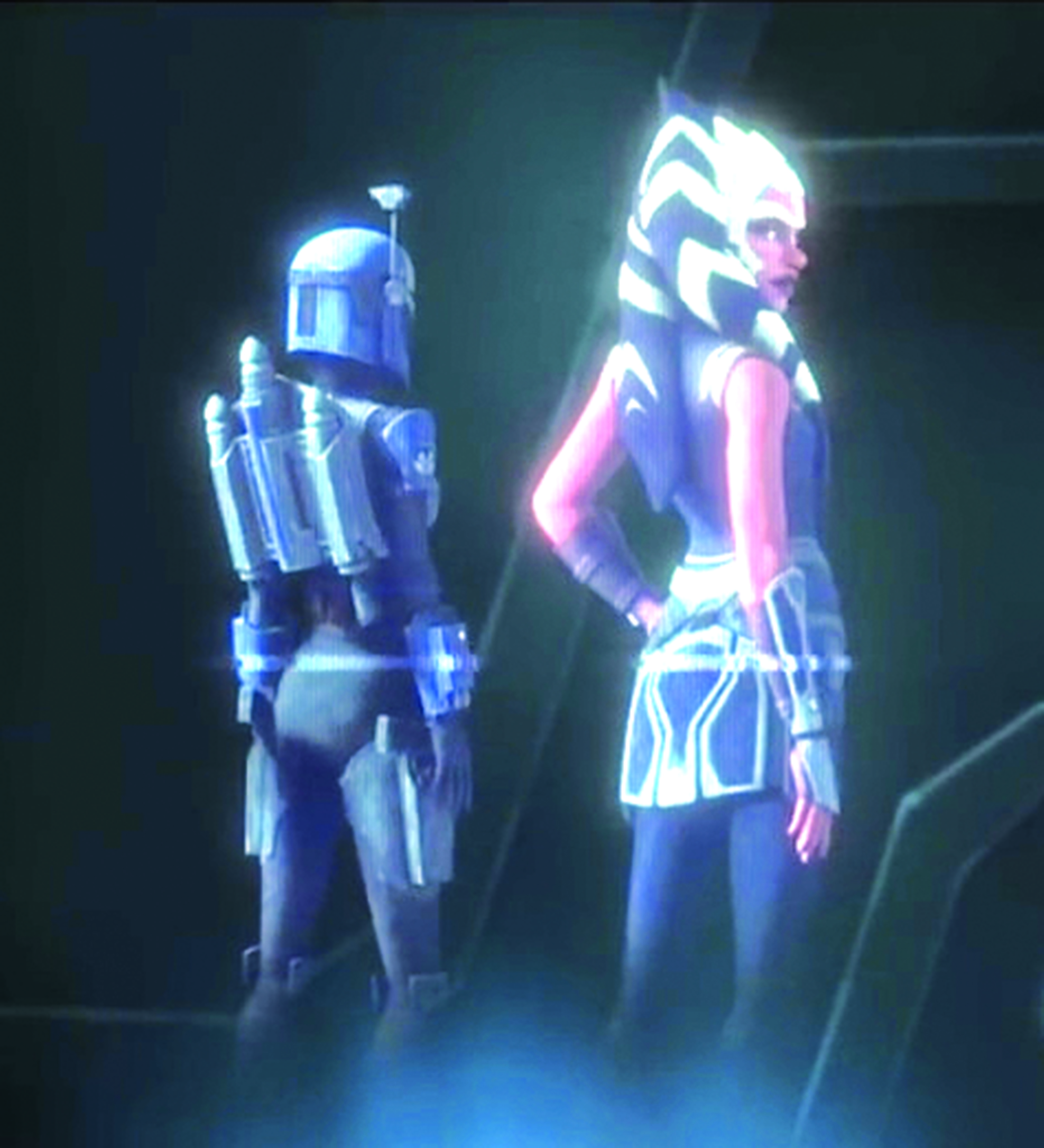 Ahsoka Full Body Ref Hologram