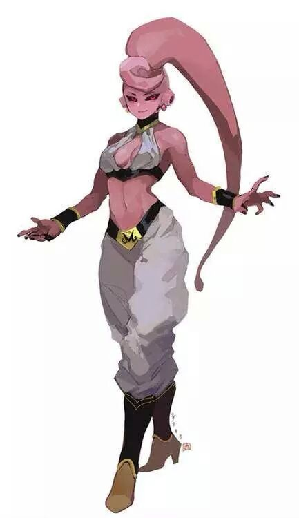 Female Majin Buu