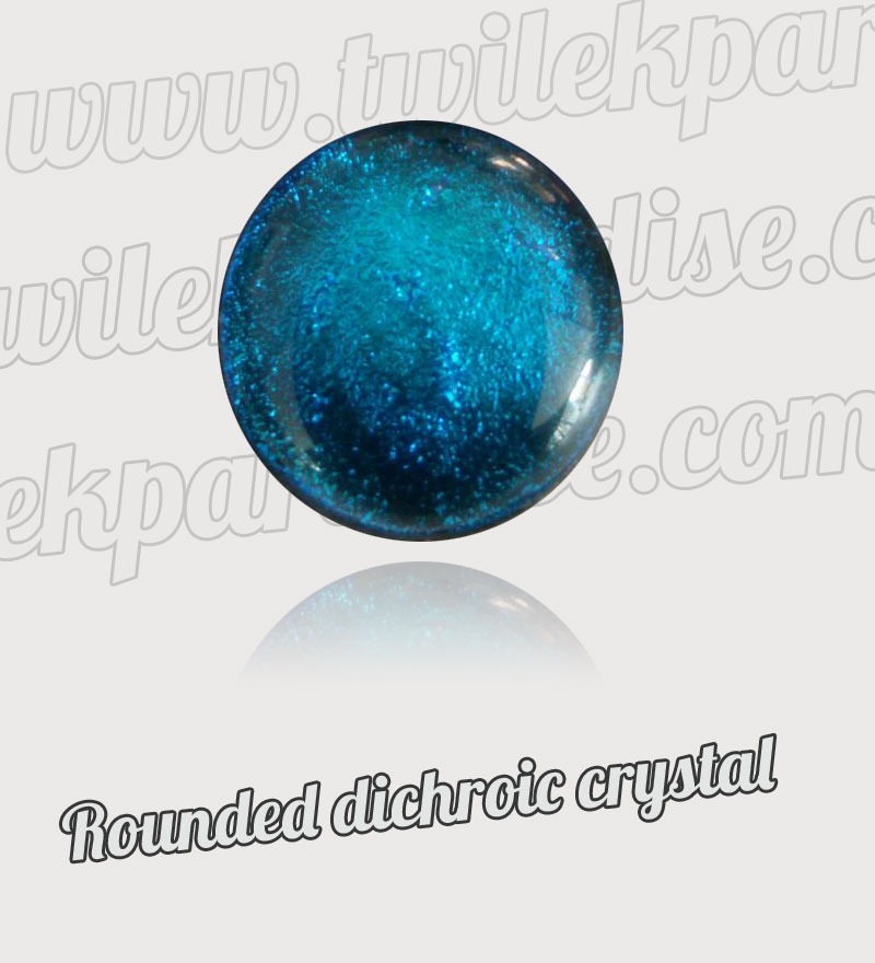 Rounded Dichroic Crystal